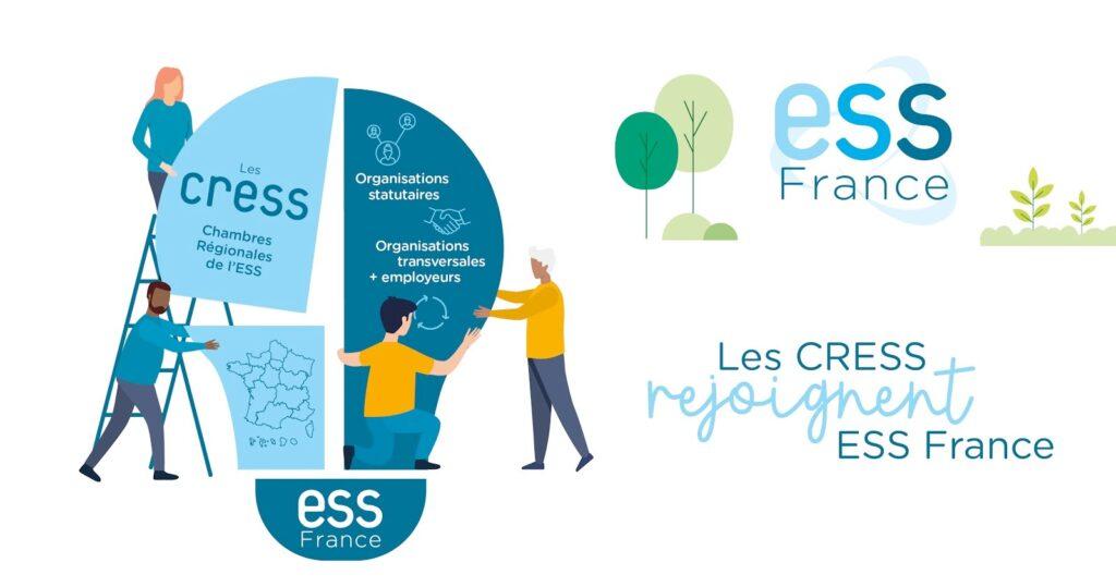 Les CRESS rejoignent ESS France un nouveau cap pour 2022