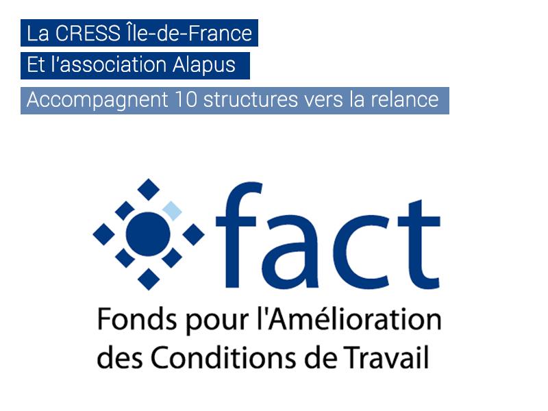 FACT'Us, le programme de management qui accompagne 10 structures franciliennes face au Covid